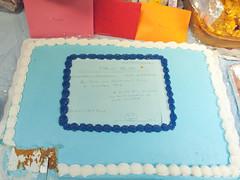 A prescription () cake of retirement! (gas_station_sushi) Tags: columbus ohio party june cake work hospital unitedstates floor lastday center medical osu third nurse neuro retirementparty nurses prescription retirement 2012 psych thirdfloor neuropsychology