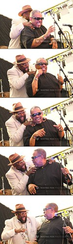 George Clinton surprises old friend, Fred Wesley from The New JB