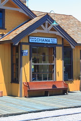 Western Union Office at Railway Depot - Chama, New Mexico (danjdavis) Tags: newmexico trainstation depot chama oldbuilding historicbuilding westernunion railwaydepot telegraphoffice
