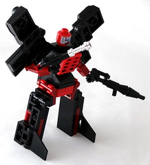 Knucklepunch (Baron Julius von Brunk) Tags: nyc lego sonic transformers legos sega hedgehog genesis knuckles moc gamegear brothersbrick baronvonbrunk juliusvonbrunk