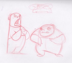 Kub - Kub & Lard concepts (dillardma) Tags: sketch drawing character cartoon conceptdrawing kubandlard