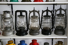 Lamp collection (Matthijs (NL)) Tags: usa lamp canon germany belgium bat collection lantern 105 panzer kerosene 30d paulls paraffin 2850 canoneos30d petroflam regalno0