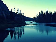 Evening at Twin Lakes... (CP green) (Art4TheGlryOfGod) Tags: california sunset nature sunrise landscape lakes twin mammothlakes waterscape 4thglryofgod easternsierranevadamtns