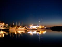 Mjlet Boats (jp3g) Tags: longexposure night reflections boats croatia panasonic g3 mjlet