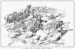 0001709 (Granger Historical Picture Archive) Tags: men english dutch boer southafrica army drawing rifle stewart f engraving late battlefield troops fa troop boerwar colonialism 1899 britishempire turnofthecentury a colenso