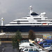 Things that sail past my studio window...20 July 2012 - Microsoft co-founder Paul Allen's yacht Octopus