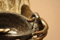"Detail of ""Inventora de Atole"" by Leonora Carrington (Jabg) Tags: mexico escultura puebla 2012 atole leonoracarrington"