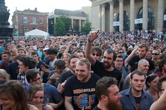 Breakdown (DavidMarsh) Tags: city people music festival sheffield crowd mosh instruments guitarist tramlines performances southyorkshire