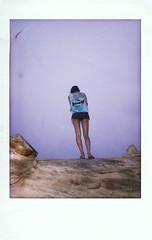 (Alexandra Moskow) Tags: california ranch blue girls sky fish fog shirt outside skull berkeley stand log friend san francisco cut tie indie tall dye lexi