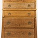 172. Oak Chest of Drawers