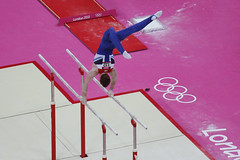Olympic Gymnastics - Brit on Parallel Bars (ncs1984) Tags: men london gymnastics olympics brit 2012 parallelbar teamgb