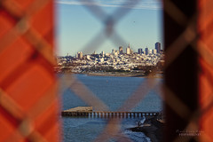 San Francisco (.OhSoBoHo) Tags: sanfrancisco california marina canon goldengatebridge fortpoint sanfranciscobay sfbayarea internationalorange hff josephbstrauss canoneos40d fencefriday summer2012