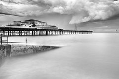 They didn't wait for me... (Anthony Owen-Jones) Tags: ocean uk longexposure sea sky blackandwhite bw white seascape black art water monochrome wales clouds canon lens landscape eos rebel mono bay coast landscapes photo seaside kiss europe exposure moody unitedkingdom north picture filter photograph ethereal nd postprocess bnw conwy t3i x5 northwales canonefs1022mmf3545usm sep2 600d takenwith 10stop nd110 nd16 rebelt3i kissx5 anthonyowenjonescom