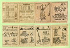 Werbefaltblatt für den Matador Baukasten (altpapiersammler) Tags: vintage advertising toy werbung spielzeug reklame matador baukasten constructionkit korbuly potsdamwaisenstrase potsdamwaissenstrasse matadorbaukasten