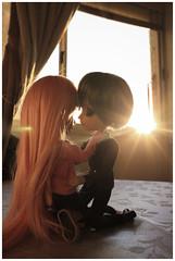 Chuu~~ (mymuffin_15) Tags: pink love kiss dal william pullip yaoi chu damian gyro steampunk mian cyb cybrian isul taeyang