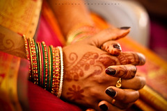 Bangles & Mehndi ~ Indian weddings :) (Kanishka **) Tags: wedding canon 50mm dof bokeh smooth ring mehendi bangles indianwedding kanishka f20 550d