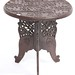 8. Indonesian Carved Wood Table