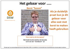 Kerst boom (Thoran Pictures (Thx for 150k views)) Tags: sign signlanguage doof collega dsw gebaar gebarentaal maatschappij ngt gemeenschap drempelsweg arnolddegans