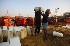 Ice-Sankarpur (Samir D) Tags: india ice canon eos fishing asia bengal westbengal sigma1020 easterncoast 40d sankarpur canon40d medinipur canon40dcanon samird