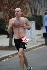 Shirtless Runner (James0806) Tags: shirtless baldmen hairychests marathonrunners