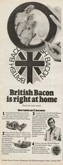 British Bacon - 1970 (rchappo2002) Tags: england english vintage magazine tv britain ad retro advert gb 70s british times 1970 1970s seventies adverts tvtimes commecials