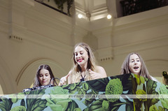 HAIM - H&M Melbourne VIP Opening (Naomi Rahim (thanks for 4.5 million visits)) Tags: party people fashion shop dj australia melbourne social vip opening celebrities hm gpo haim 2014 auroradesign