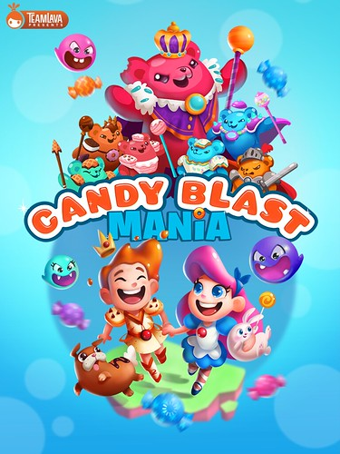 Candy Blast Mania Loading: screenshots, UI