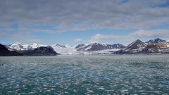 Beautiful scenery of Svalbard (MoniqueM68) Tags: glacier svalbard spitsbergen northpole noordpool