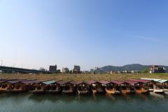 Boats (Teruhide Tomori) Tags: water japan river boat   gifu  nagarariver