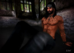 Take It Easy (erikmofanui) Tags: portrait relax dof malemodel sexyman depthoffeild secondlifeportrait secondlifephotography peopleofsl secondlifravatar
