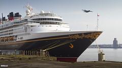 Disney Magic (Mark Holt Photography - 4 Million Views (Thanks)) Tags: liverpool raf disneymagic royalairforce c130h disneycruises cruiseliverpool