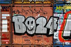 graffiti amsterdam (wojofoto) Tags: holland amsterdam graffiti nederland netherland ndsm wolfgangjosten bo24 wojofoto