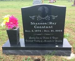 Constant Headstone (eloisedv) Tags: oklahoma cemetery headstone gravemarker cartercounty lonegrove