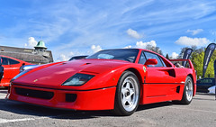 Ferrari F40 (SJB__Photography) Tags: cars car italian automotive ferrari supercar alltime f40 brooklands exoticcar ferrarif40 rarecar autoitalia hypercar carswithoutlimits