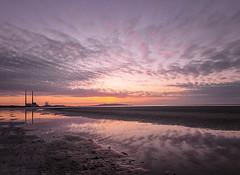 Sandymount (Rus) Tags: howth sunrise reflections manfrotto poolbeg sandymount dublinbay sigma1020 nikond5000 adobecc