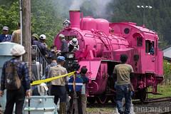 Pink SL at Wakasa Railway (23) (double-h) Tags: sl tottori jnr steamlocomotive c12   eos6d   pinksl wakasarailway  c12 ef100400mmf4556lisiiusm c12167 wakasastation classc12 c12 sl