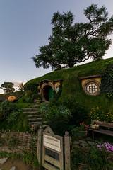 Bag end (David Mecys) Tags: newzealand northisland thehobbit hobbiton thelordoftherings newzealand2016