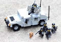 Operations (Brick Police) Tags: lego minifig humvee