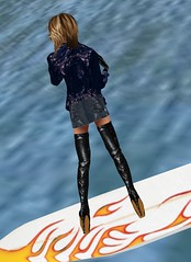 24 (SoakinJo) Tags: thighboots balletheels wetlook wetclothes imvu wetdenim surfinginheels