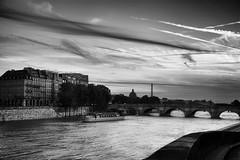 Paris bridge B/W (l.cutolo) Tags: city bw paris water monochrome architecture clouds aperture europe cityscape cloudy dusk sony details eiffeltower highcontrast scape senna a7 oldcity onone lightanddark tlp hdrlike 3deffects worldtrekker fe2470mmf4zaoss