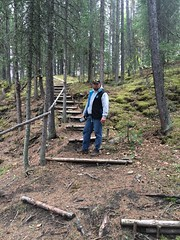 Nature Stairs (Oldman Watershed) Tags: dutch creek 2016 backcountry outreach assistants engaging recreationists ohv surveys