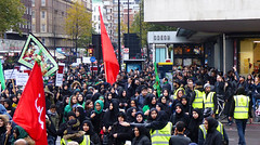 Two Red Flags (Kombizz) Tags: uk people london justice massacre muslim islam faith religion crowd battle tragedy shia muharram ashura hydepark karbala odeon edgwareroad marblearch tyranny umayyad martyrdom caliph mourners yazid prophetmuhammad sufyan imamhussain ziaratashura ahlulbait ziyarat ziarat hazratabbas twoflags umayyads battleofkarbala ahlalbayt muslimummah kombizz 10thofmuharram sayyedalshohada shiitemuslims shimribnthiljawshan moonofthehashimites حسينبنعليبنأﺑﻲطالب‎ imamzainulabedin muawiayh umaribnsad alialasghar saiydushshohada banuumayya yaabaabdillahalhussain imaamhussain ziyaratashura muharram1436 yaghamarbanihashem qamarebanihashim 1130115 tworedflags
