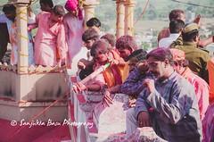 Barsana Nandgaon Lathmar Holi Low res (29 of 136) (Sanjukta Basu) Tags: holi festivalofcolour india lathmarholi barsana nandgaon radhakrishna colours