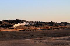 I_B_IMG_7500 (florian_grupp) Tags: china railroad train landscape asia mine desert muslim railway steam xinjiang mikado locomotive ore js steamlocomotive 282 opencastmine yamansu