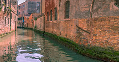 Elegant decay (Sorin Popovich) Tags: city venice red italy orange brick water beautiful wall architecture buildings reflections outdoors canal ruins europe decay nopeople crumble venezia patina veneto buildingexterior historiccentre elegantdecay