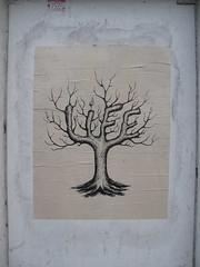 The tree of life (duncan) Tags: streetart tree pasteup poster wheatpaste treeoflife thetreeoflife