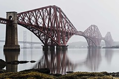 The bridge in the Mist (StephenPSinclair) Tags: road bridge mist water fog nikon long exposure little fife rail forth filter iconic lothian stopper