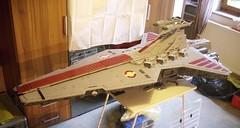 WIPUCS Venator Overview 1 | 18.06.16 (Commander Cloverleaf) Tags: star ship lego space destroyer wars starcraft stardestroyer ucs venator