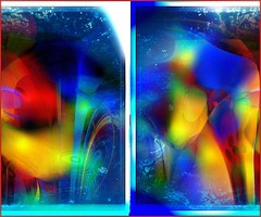 Changing (Joe Vance aka oliver.odd - running in Safe Mode) Tags: light baby abstract colour art face design faces space surreal warp lips change psychedelic