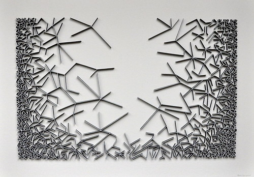 herman coppus papierrelief 70x100cm